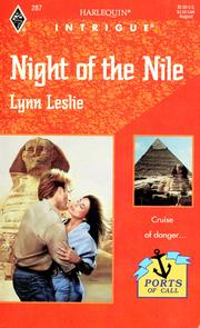 Cover of: Night of the Nile | Lynn Leslie