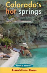 Cover of: Colorado's hot springs