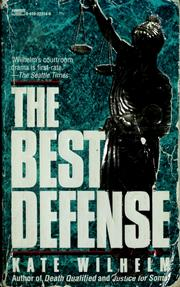 Cover of: The best defense | Kate Wilhelm