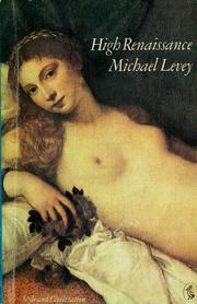 High Renaissance by Levey, Michael.