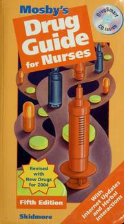 Cover of: Mosby's Drug Guide for Nurses - Revised Reprint with 2004 Update by Linda Skidmore-Roth