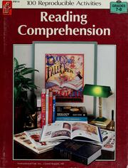 Cover of: Reading comprehension | Lisa Hancock