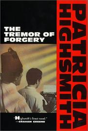 Cover of: The tremor of forgery