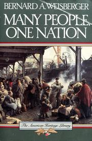 Cover of: Many people, one nation | Bernard A. Weisberger