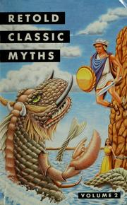 Cover of: Retold classic myths | Kathleen Myers