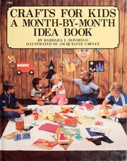 Cover of: Crafts for kids | Barbara L. Dondiego