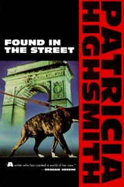 Cover of: Found in the street