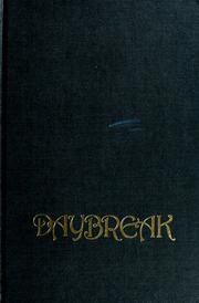 Cover of: Daybreak | Paul C. Brownlow