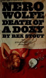 Cover of: Death of a doxy | Rex Stout