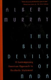 Cover of: The Blue Devils of Nada | Albert Murray
