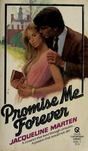 Cover of: Promise Me Forever by Jacqueline Marten