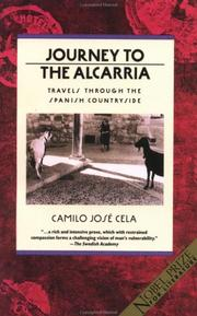 Cover of: Journey to the Alcarria