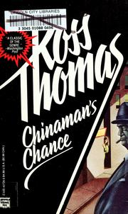 Cover of: Chinaman Chance | Ross Thomas