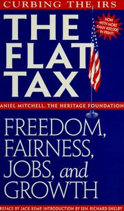 Cover of: The flat tax | Daniel Mitchell