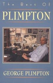 Cover of: The best of Plimpton