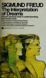 Sigmund Freud Dream Interpretation Book