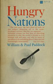 Cover of: Hungry nations | William Paddock