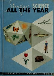 Cover of: Science all the year | George Willard Frasier