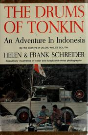 Cover of: The drums of Tonkin | Helen Schreider