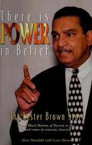 There is power in belief by Steve Mundahl