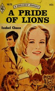Cover of: A pride of lions by Elizabeth Hunter