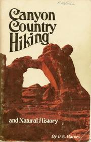 Cover of: Canyon Country Hiking