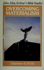 Cover of: Overcoming materialism