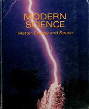 Cover of: Modern science | Sam S. Blanc