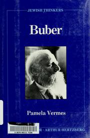 Cover of: Buber | Pamela Vermes
