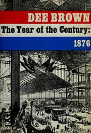 Cover of: The year of the century: 1876
