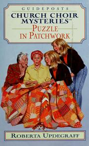 Cover of: Puzzle in patchwork | Roberta Updegraff