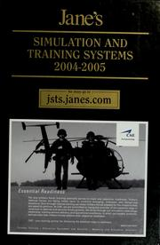 Cover of: Jane's simulation and training systems, 2004-2005 by