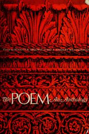 Cover of: The poem; an anthology. by Stanley B. Greenfield
