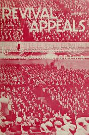 Cover of: Revival appeals | John R. Rice