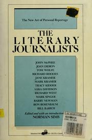 Cover of: The Literary journalists