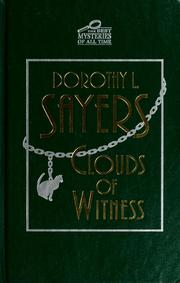 Cover of: Clouds of witness by Dorothy L. Sayers