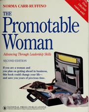 Cover of: The promotable woman | Norma Carr-Ruffino