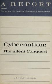 Cover of: Cybernation