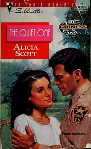 Cover of: Quiet One  (The Guiness Gang) by Alicia Scott