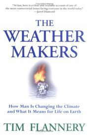 Cover of: The weather makers