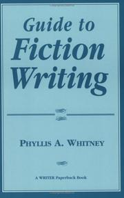 Cover of: Guide to fiction writing