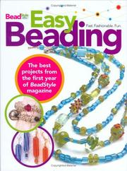 Cover of: Easy Beading | The Editors of BeadStyle Magazine