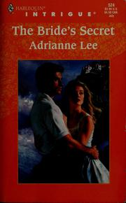 Cover of: The Bride's Secret | Adrianne Lee