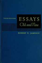 essays old and new Old generation versus new generation of teenagers - sociology essay example today in our society, there is a debate regarding.