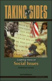 Cover of: Taking Sides: Clashing Views on Social Issues