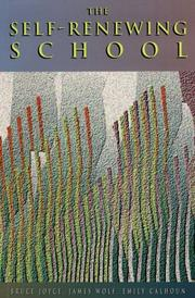 Cover of: The self-renewing school
