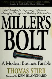 Cover of: Miller's bolt | Thomas Stirr
