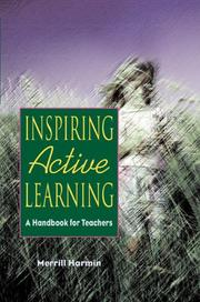 Inspiring active learning by Merrill Harmin