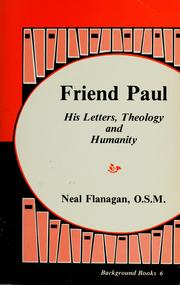 Cover of: Friend Paul | Neal M. Flanagan