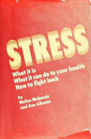 Stress by Walter McQuade